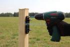 Установка ленты 40мм для лошадей_1