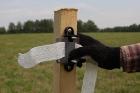 Установка электропастуха для лошадей